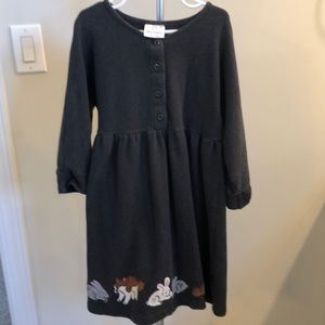 Hanna Anderson terry dress size 8/130